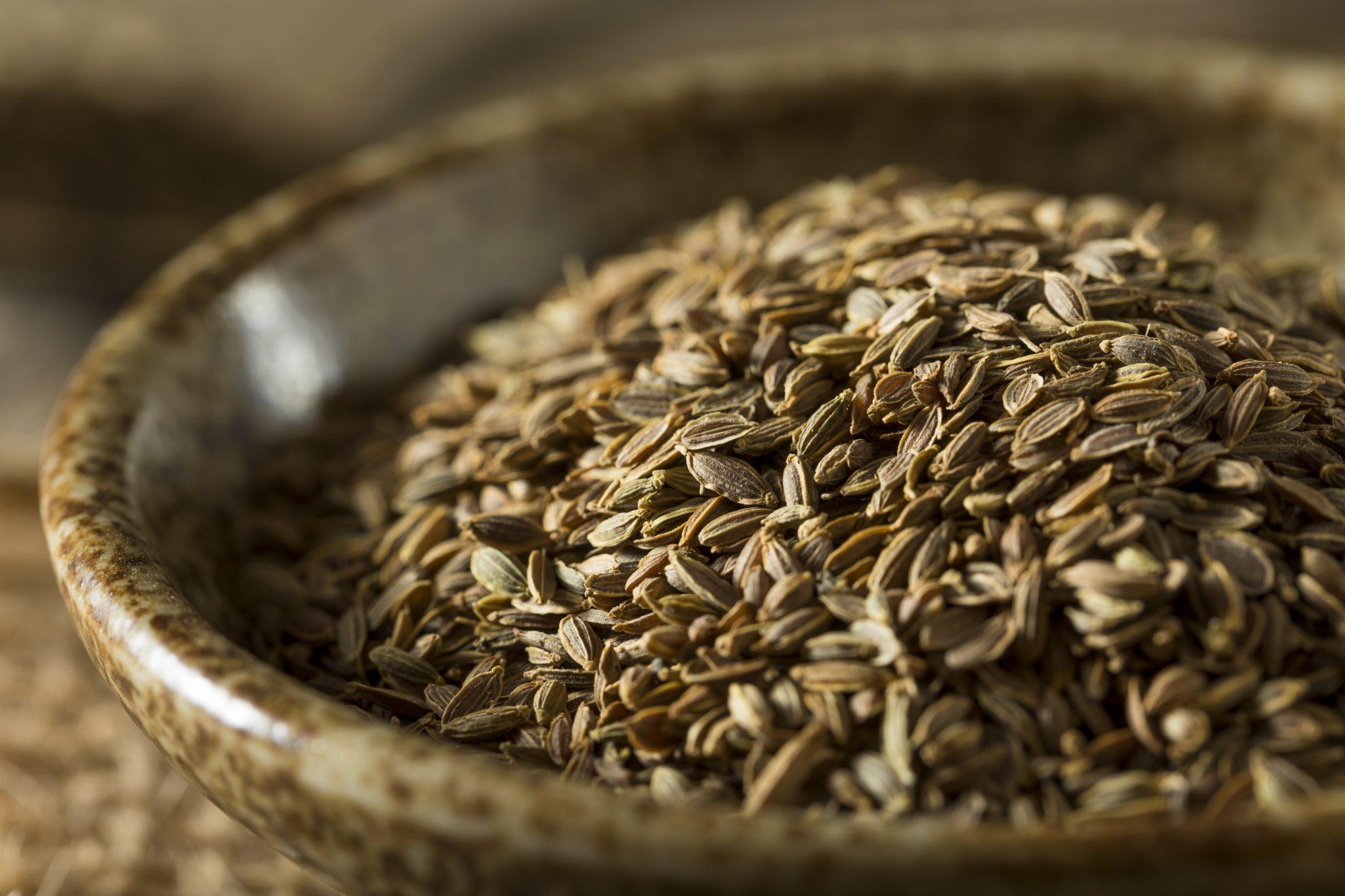Raw Organic Dill Seed